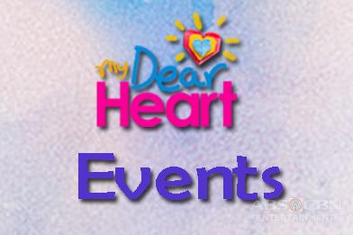 My Deart Heart Event Schedule